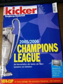 原版踢球者2005-2006欧冠特辑