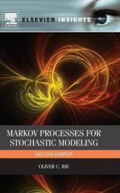 Markov Processes for Stochastic Modeling-随机建模的马尔可夫过程