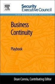 Business Continuity : Playbook-业务连续性:行动手册