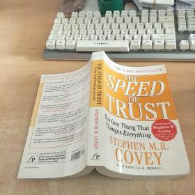 The Speed of Trust: The One Thing That Changes Everything[信任的速度: 可以改变一切的一件事]