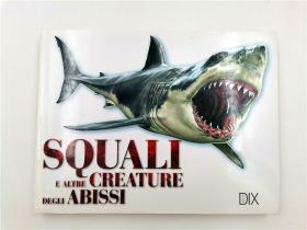 Squali e altre creature degli abissi (Italian)  鲨鱼和其他深海生物(意大利语)