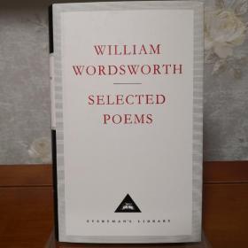 William Wordsworth Selected Poems 华兹华斯诗集 everyman's library 人人文库 英文原版 布面封皮琐线装订 丝带标记 内页无酸纸可以保存几百年不泛黄