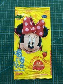 棒冰纸收藏-2020伊利妙趣嚼嚼乐草莓奶酪味冰淇淋-迪士尼图案