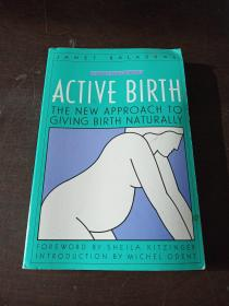 Active Birth: The New Approach to Giving Birth Naturally(英文原版)