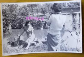 民国老照片:民国旗袍美女,你拍照,我拍你【陌上花开系列】