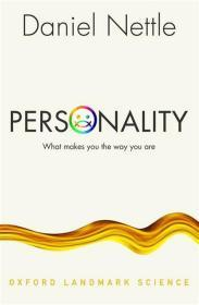 Personality:What Makes You the Way You Are性格:让你之所以为你,英文原版