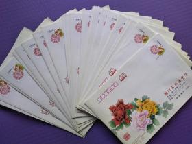 2.4元邮资封共74个合售--荆门市石化学校(2011年24个+2012年40个+2013年10个)