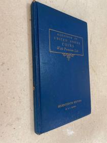 HANDBOOK OF UNITED STATES COINS 美国钱币手册 英文版