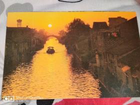 明信片:水巷一张