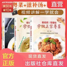 粤菜滋补汤养生菜谱大全家常食谱家常菜学做菜的书营养生炒菜美食