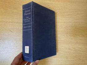 The Collected Letters of Dylan Thomas   狄兰·托马斯书信集,700封首次发表,影响 布罗茨基、穆旦, 余光中、巫宁坤竞相翻译,重超1公斤,1985年定价45美元