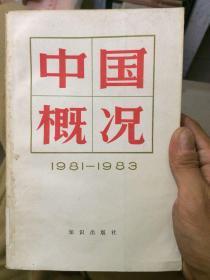 中国概况1981 - 1983