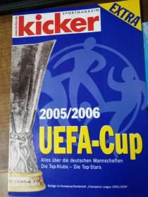 原版踢球者2005-2006欧洲联盟杯簿册特辑