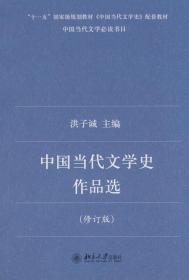 中国当代文学史作品选