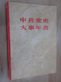 中共党史大事年表