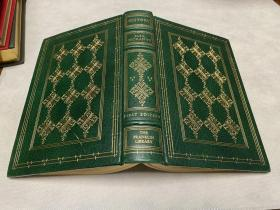 History : A Novel 真皮精装限量版 书口三面刷金 能保存数百年的存档级别的无酸纸