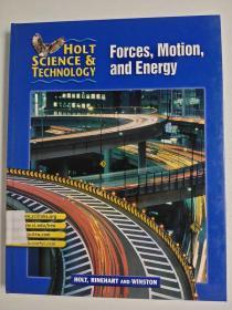 特价清仓 Holt Science and Technology Forces, Motion, and Energy 力、运动和能量 英文版精装