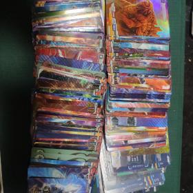 奥特曼卡 品相如图,40张20元,奥特曼怪兽不重复。