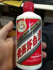 【酒瓶收藏】飞天小瓶 贵州茅台酒53%  200ml  小酒瓶一个【年代不详;图片为实拍,品相以图片为准】
