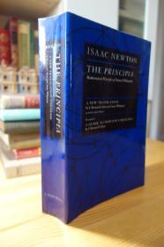 牛顿 自然哲学的数学原理 The Principia : Mathematical Principles of Natural Philosophy  九百多页大厚本