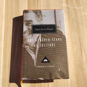 One Hundred Years of Solitude 《百年孤独》英文版 人人文库 加西亚•马尔克斯
