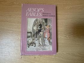 Aesop's Fables    伊索寓言,董桥喜欢的 赖格姆 Arthur Rackham 彩色、黑白插图,精装