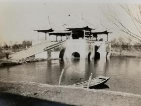 民国扬州风景瘦西湖(私人拍摄)