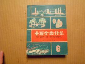 《十万个为什么》(第6册) 【60年代老版本.精美插图 36开方本】