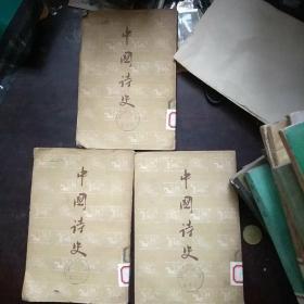 中国诗史 上中下