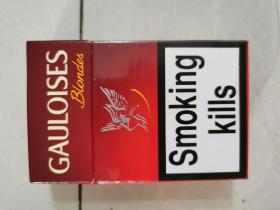 GAULOISES烟标盒标,外国