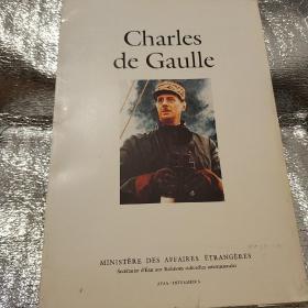 Charles de Gaulle 法文原版(戴高乐将军,活页全24张)