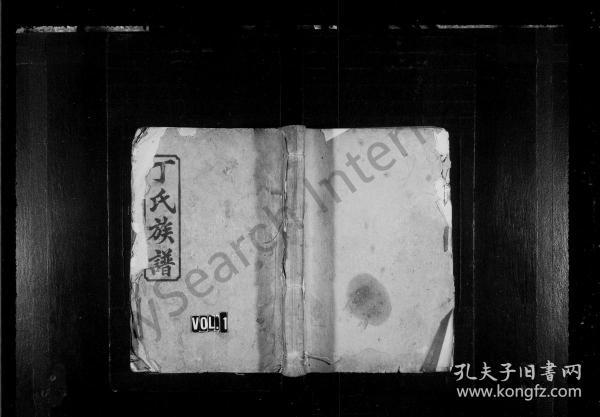 丁氏续修族谱 [19卷,首2卷] 复印件