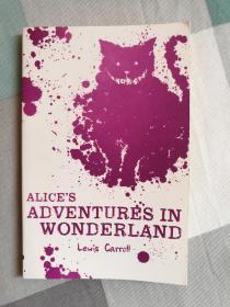 英文原版 Alices Adventure in Wonderland 爱丽丝梦游仙境 Alice in Wonderland 第一部