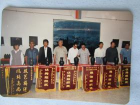 潍坊在《一九九零山东摄影艺术新作展》获奖照片——三张合售