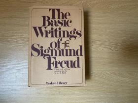 The Basic Writings of Sigmund Freud   弗洛伊德基本文集,包括《梦的解析》等,精装,超1000页,权威现代文库版,重超1公斤