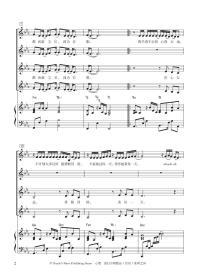 心墙(附光盘女声合唱五线谱与简谱)/流行合唱精品活页系列