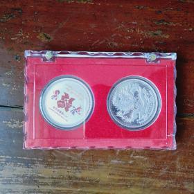 2012年伦敦奥运会银章2枚