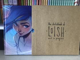 现货 The Sketchbook of Loish Art in progress 荷兰画师 付外箱