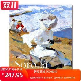 现货 Sorolla and the Paris Years 西班牙印象派画家索罗拉作品集 索罗拉与巴黎岁月 沙滩风景、肖像画绘画册 英文原版