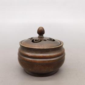 老铜小香炉  尺寸品相如图