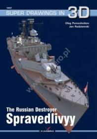 Super Drawings 16067.The Russian Destroyer Spravedlivyy.-超级图纸16067。俄罗斯驱逐舰Spravedlivyy。