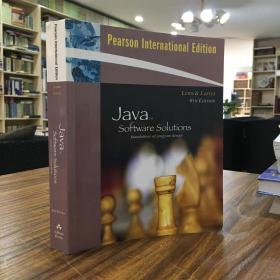 Java Software Solutions(Java软件解决方案)