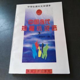中国当代短篇小说选五