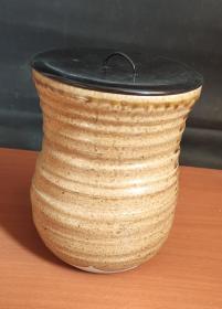日本回流茶叶罐 D2195