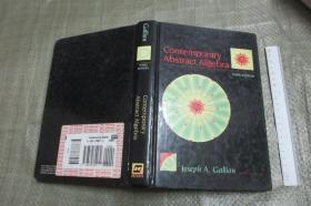Contemporary Abstract Algebra (3rd Edition) 英文原版 《当代抽象代数学》硬精装小16开厚本