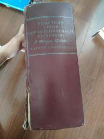 Websters Third New International Dictionary(1961年版)韦氏第三版新国际英语大词典,最权威的美语词典