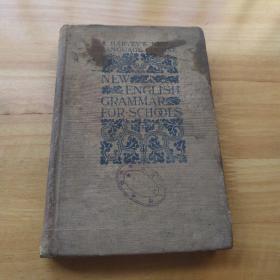 外国原版书《NEW ENGLISH GRAMMAR 新英语语法》精装 1900年纽约出版