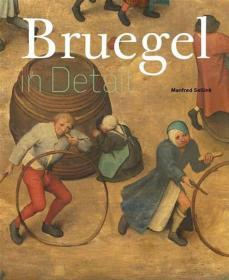 Bruegel In Detail - Portable Edition荷兰画家彼得·勃鲁盖尔,英文原版