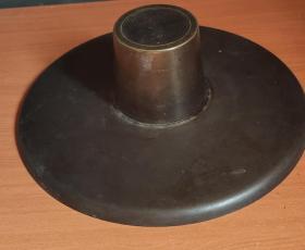 日本回流铜制茶道用具D2198
