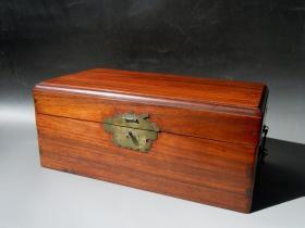 老红木盒 !